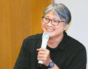 童偉格。 圖/本報記者陳柏亨攝影