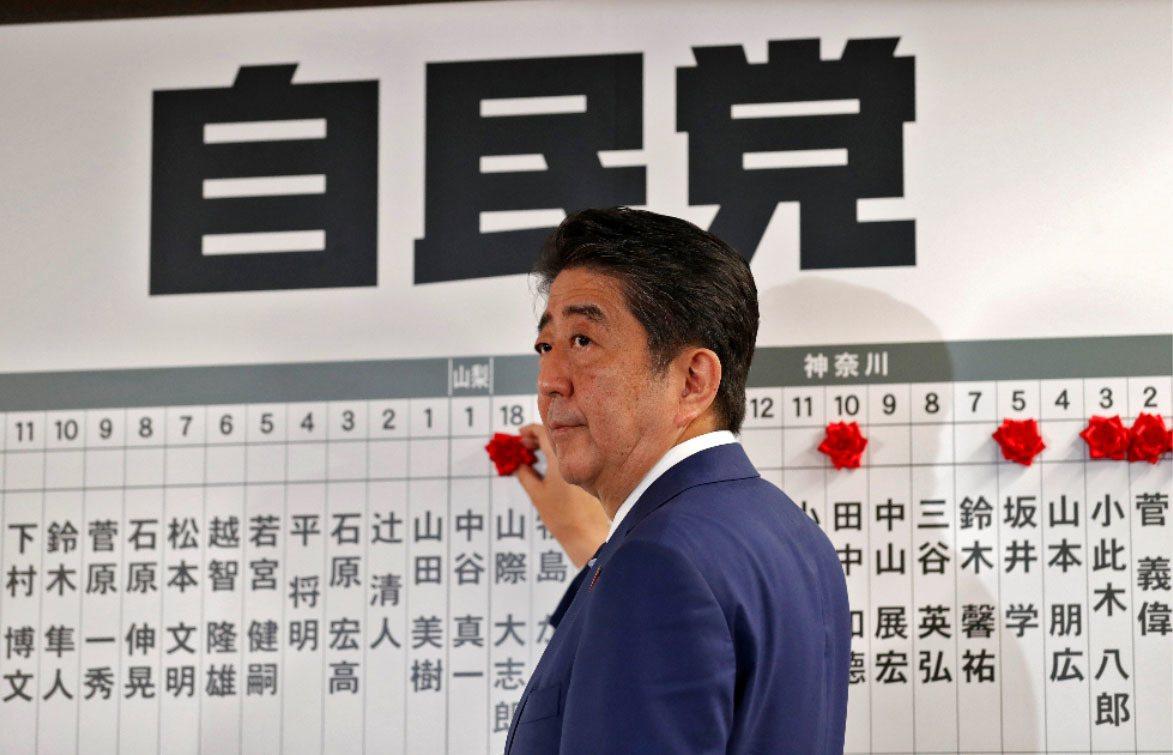 日本首相安倍晉三 路透