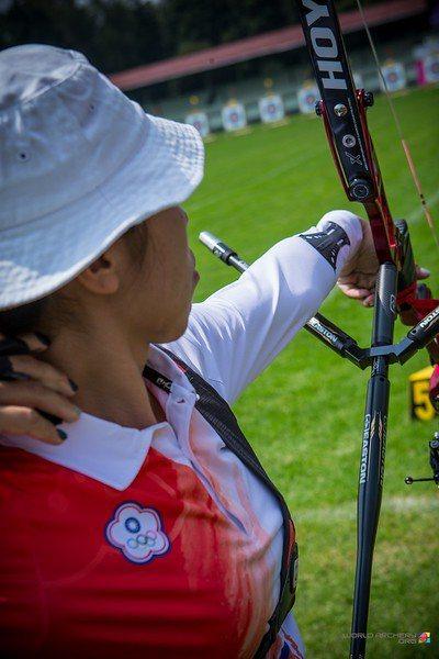 中華女子隊射下團體銅牌。 擷圖自世界射箭聯盟官網