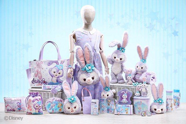 樂園推出近40款全新StellaLo主題商品供賓客選購,一眾粉絲必定滿載而歸! ...