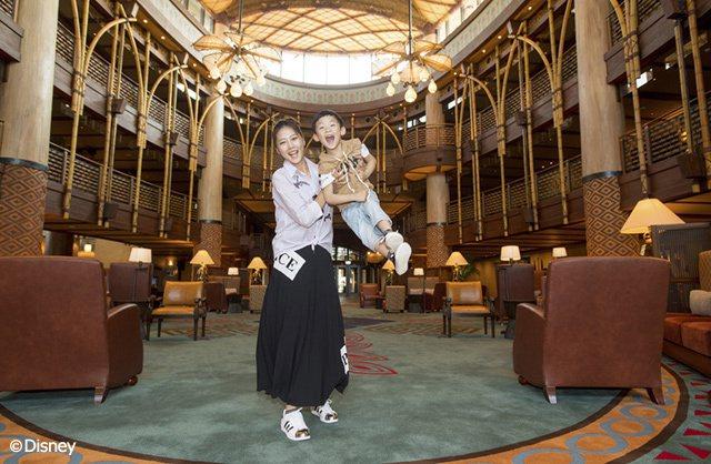 嚴立婷早在酒店新開幕時就帶著家人搶先體驗,成為首批入住的幸運旅客! 圖/香港...