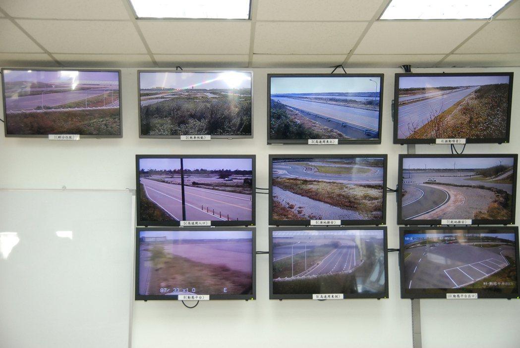 圖為控制試車場進出的「塔台」控制室,可即時監控 ARTC 內的 12 條測試道,並管控所有進出車流、人數。 記者林鼎智/攝影