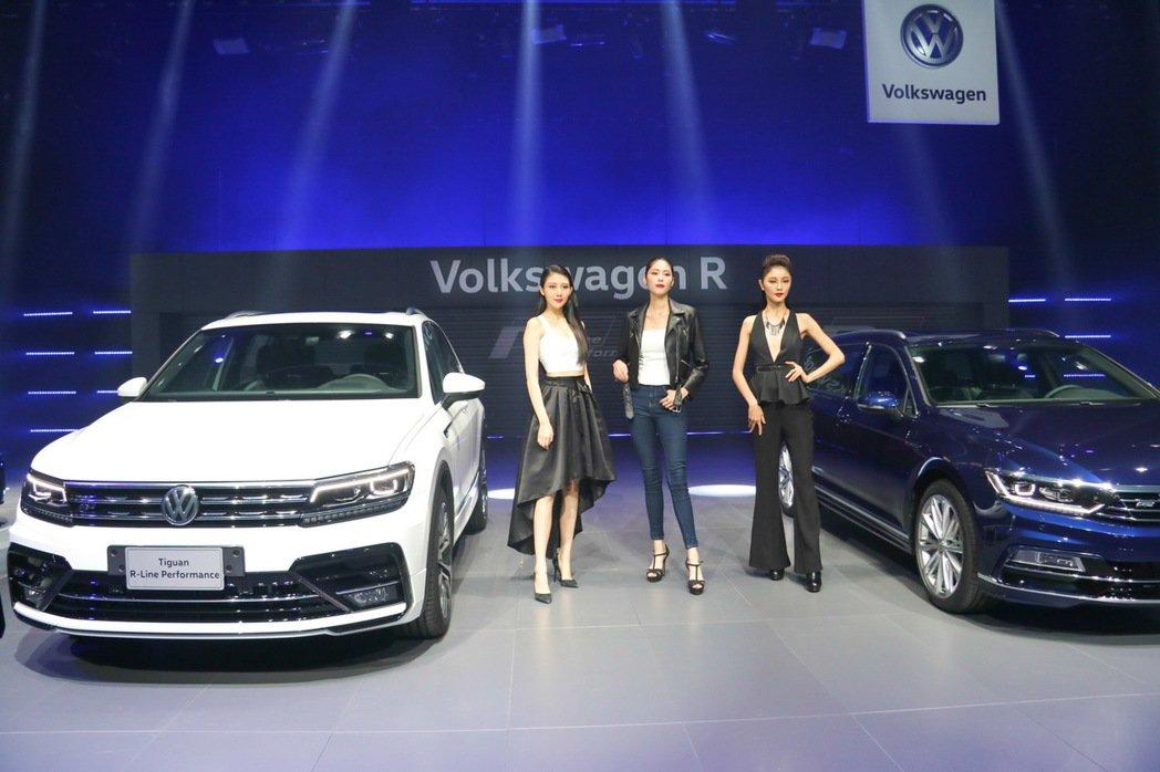 台灣福斯汽車推出品牌性能車款。 記者史榮恩/攝影