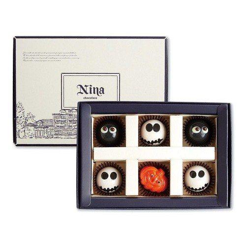 妮娜巧克力【一定要搗蛋!】萬聖節手繪六入巧克力禮盒即日起至10月31日止,只要3...