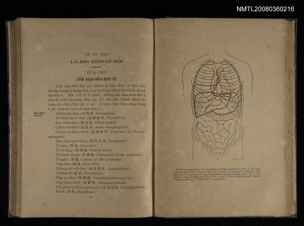 1917年出版的《內外科看護學》是白話字的醫學教科書。(圖/國立臺灣文學館典藏)