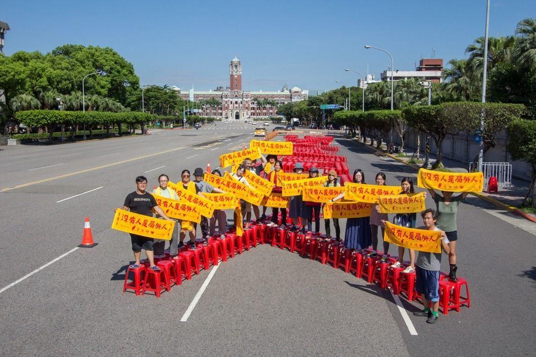 臺灣光復節即將到來,在凱道抗議《傳統領域劃設辦法逾越原基法》夜宿超過8個月,迄今...
