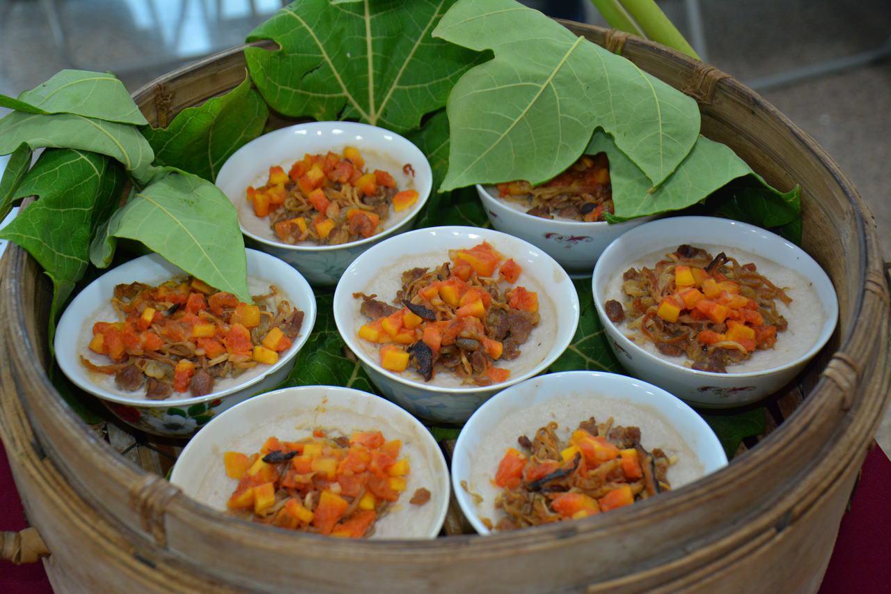 木瓜土豆碗粿將成山上特色小吃。記者吳淑玲/攝影