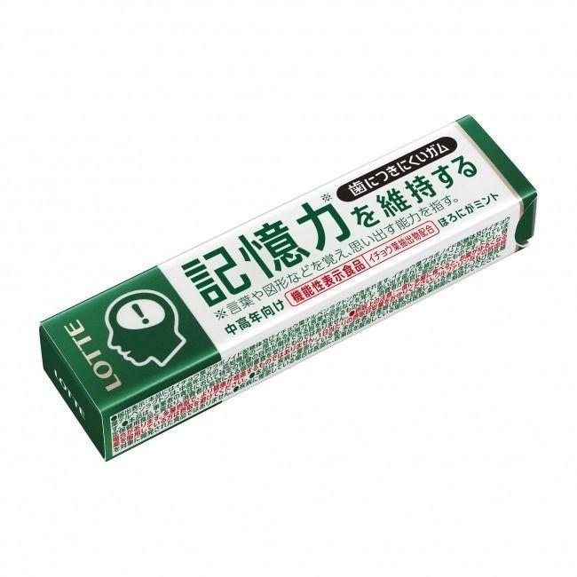 日本推出一款可維持記憶力的口香糖,但成分為我國未准許之食品原料,業者及民眾不得擅...
