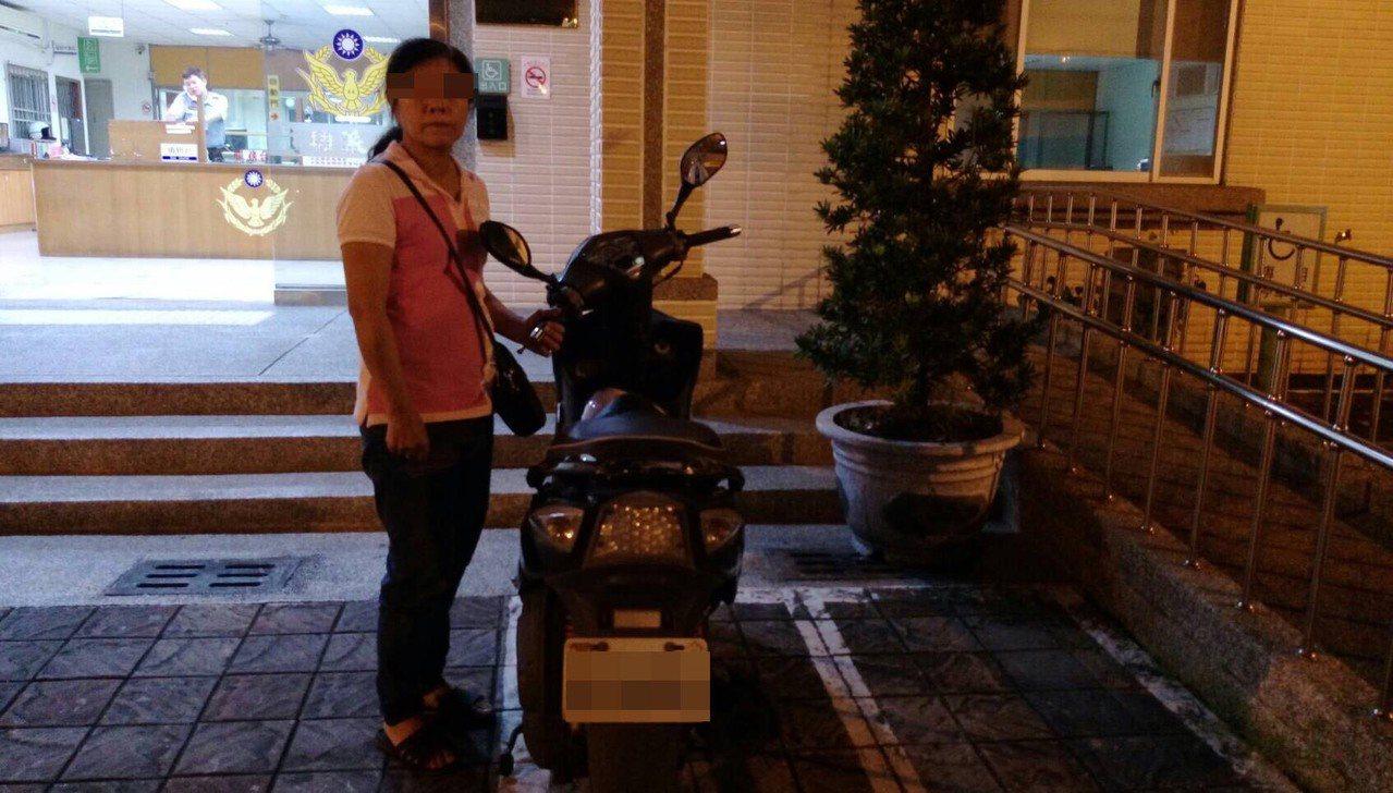 梁女當晚就被警方逮到。記者林伯驊/翻攝