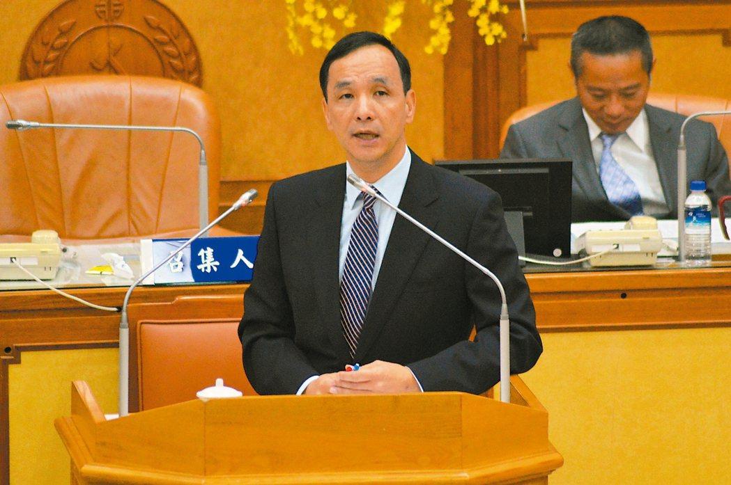 朱立倫:不選台北市長