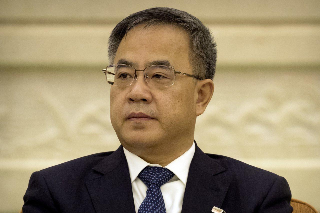 中國國務院副總理胡春華。 歐新社