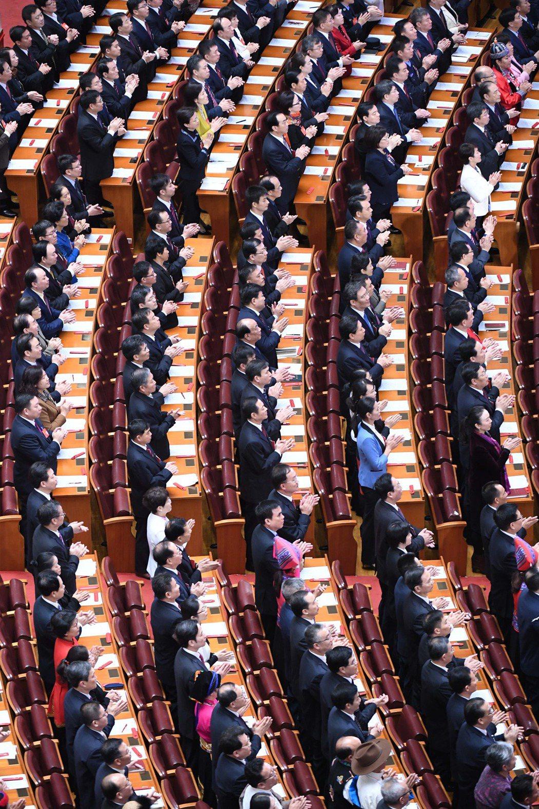 中國共產黨第十九次全國代表大會閉幕。(新華社)