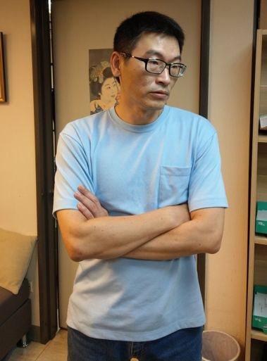 台北市議員梁文傑。聯合報系記者楊正海/攝影