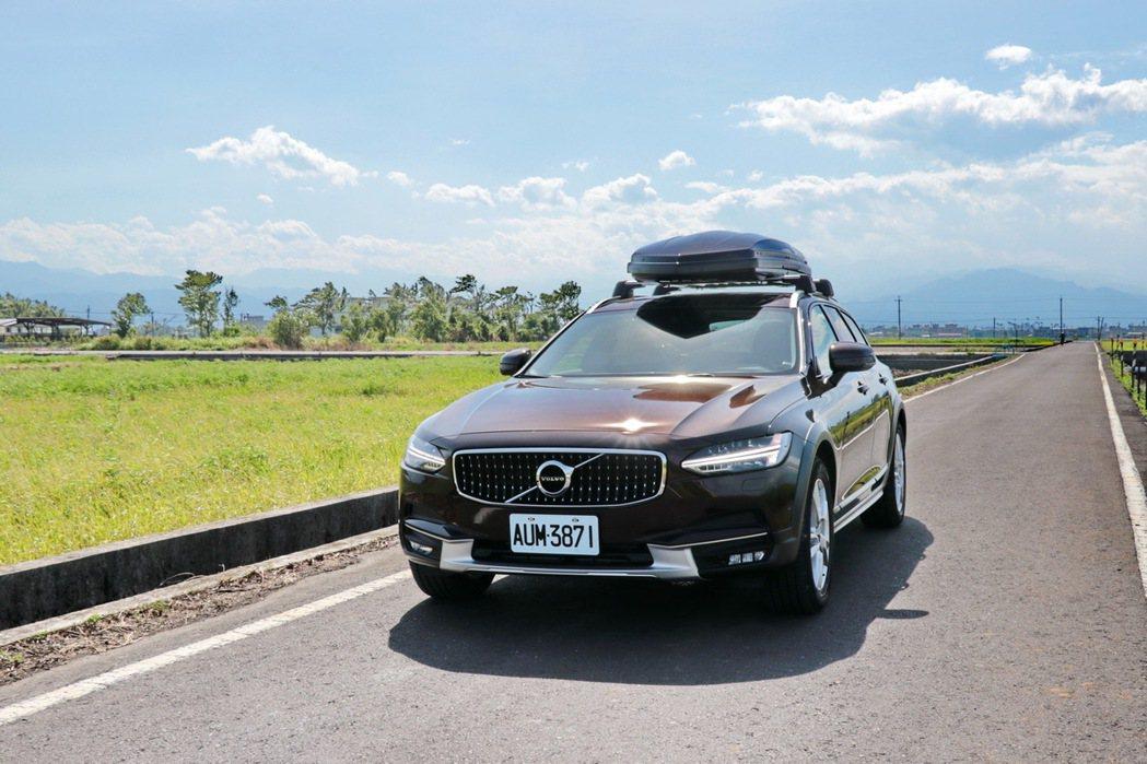 V90 Cross Country是台CP值頗高的車款。 記者陳威任/攝影