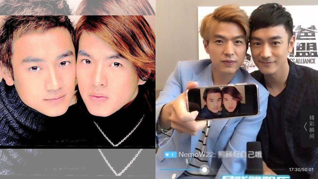 林佑威自曝當年拍宣傳照時「不太舒服」。 圖/擷自微博、滾石唱片提供