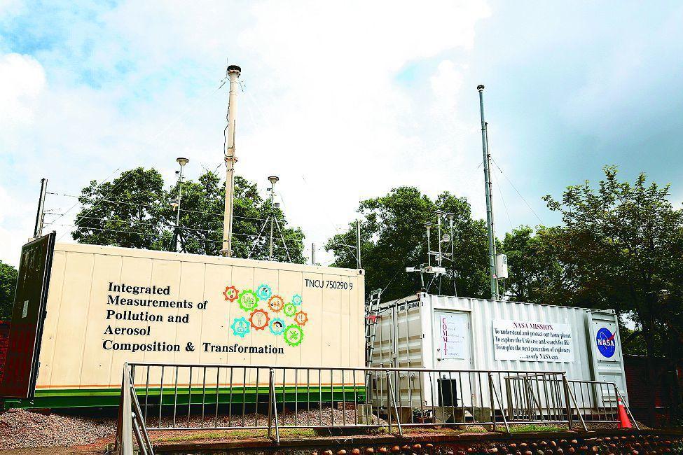 NASA監測站進駐東海大學展開三個月空品監測分析。