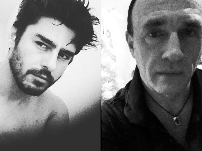 「羅納杜」(右)的真實身分其實是一位在零售店工作、55歲、名叫艾倫史坦利(Ala...