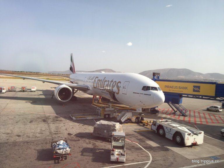 這次搭乘的Boeing 777-300ER機型。圖文來自於:TripPlus