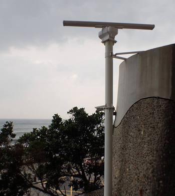 中央氣象局在北部及東北部設置「波段測波流雷達」,以觀測近海波浪。圖/氣象局提供