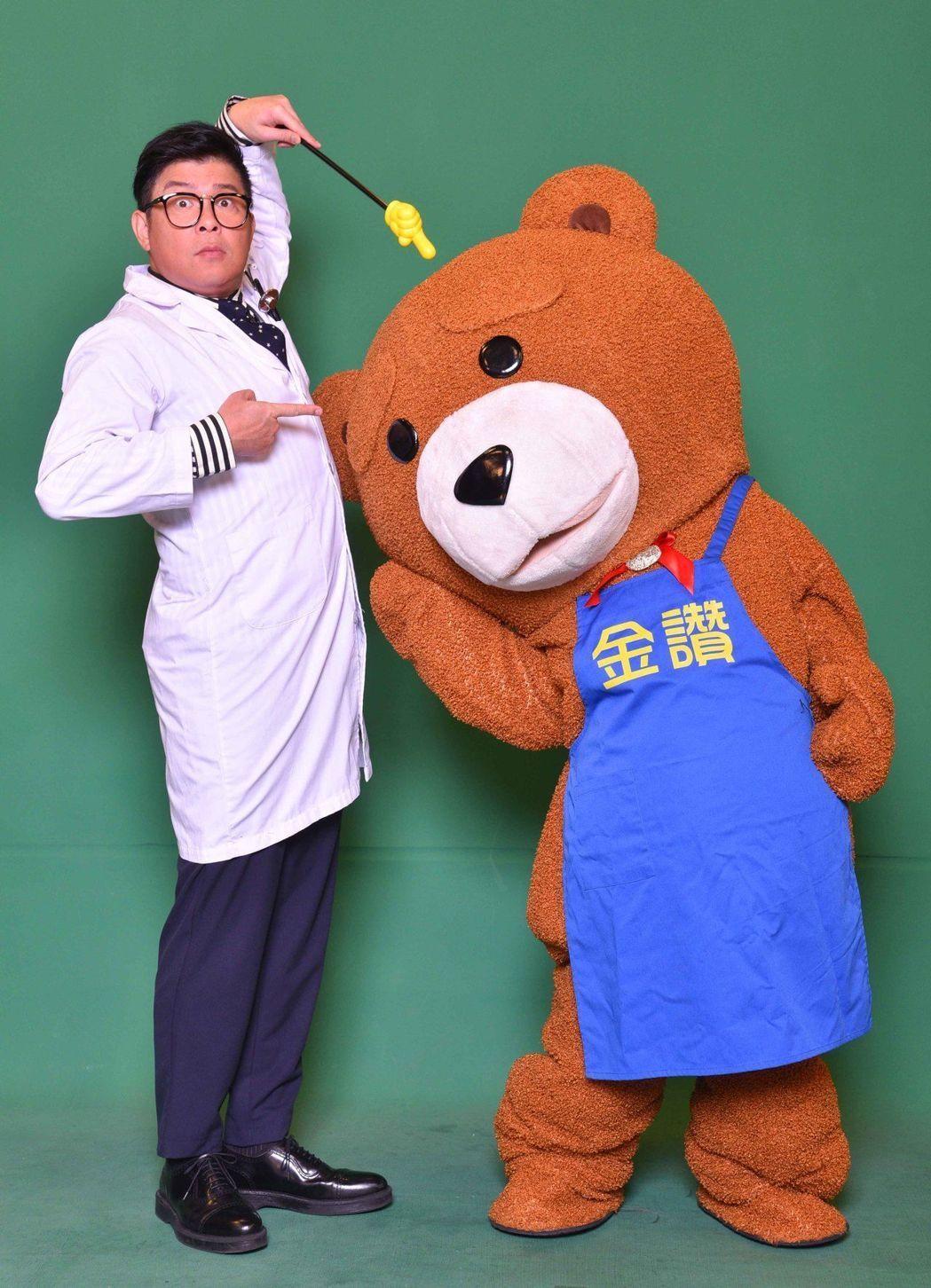 曾國城最近接下醫療健康節目,他說剛好可以審視自己的身體狀況。圖/中天提供