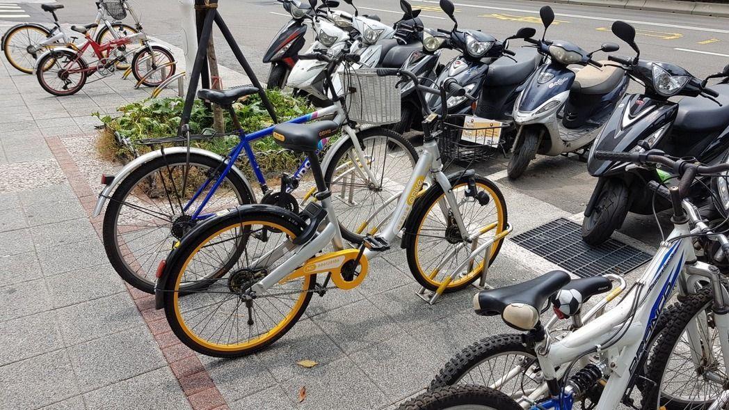 針對oBike等共享運具亂象,北市府制定「台北市共享運具經營業管理自治條例」草案...