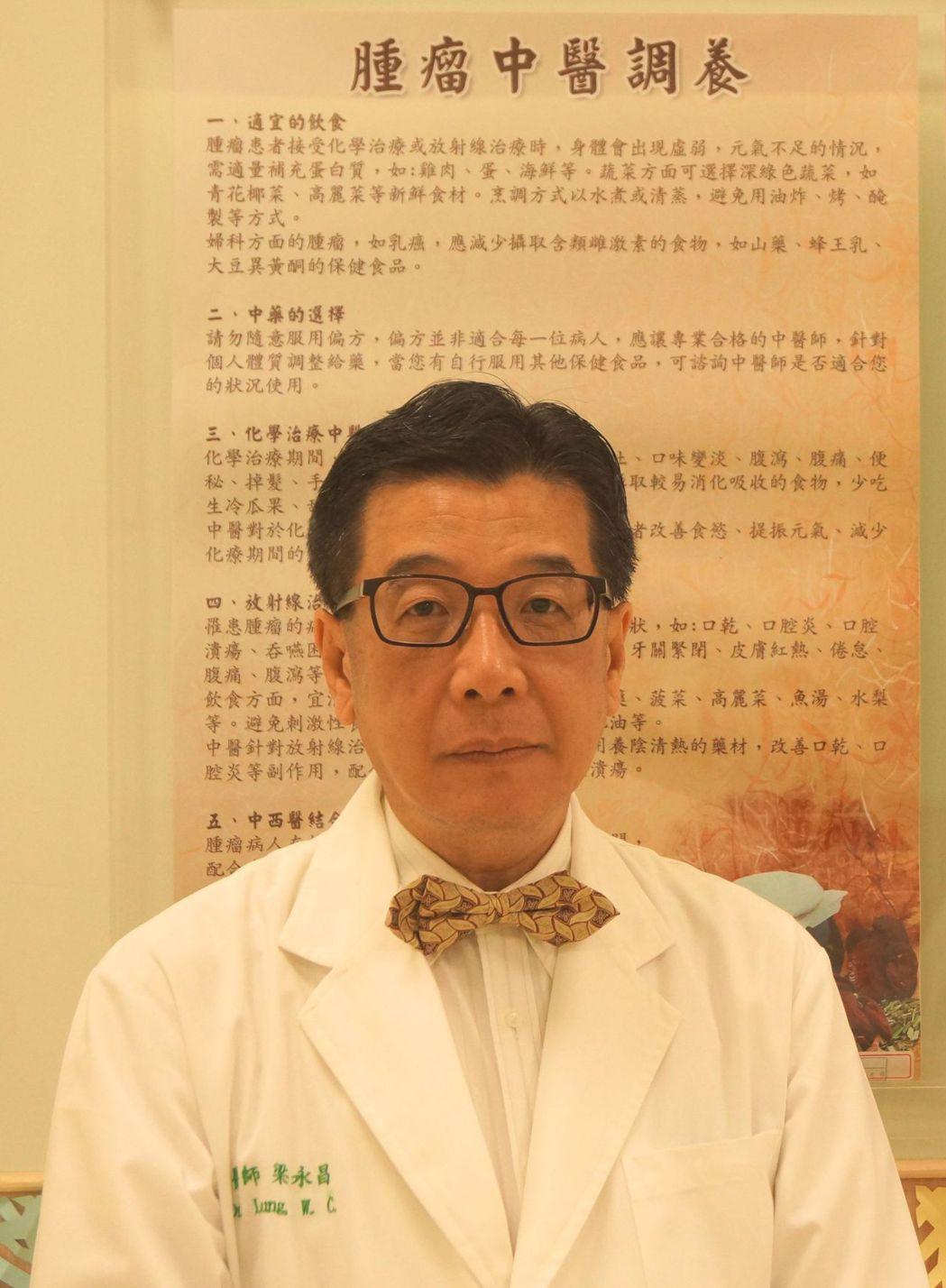 台南市立安南醫院放射腫瘤科主任梁永昌提醒民眾吃雞蛋的好處多多。圖/安南醫院提供