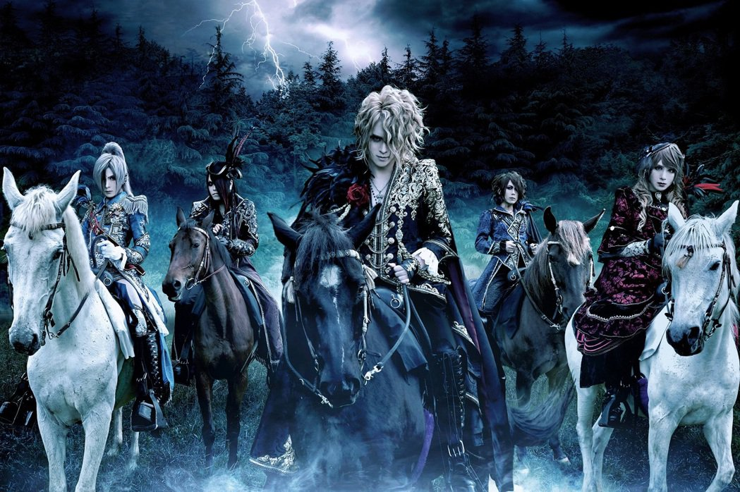 視覺系樂團Versailles演出取消。圖/創世紀全球娛樂提供
