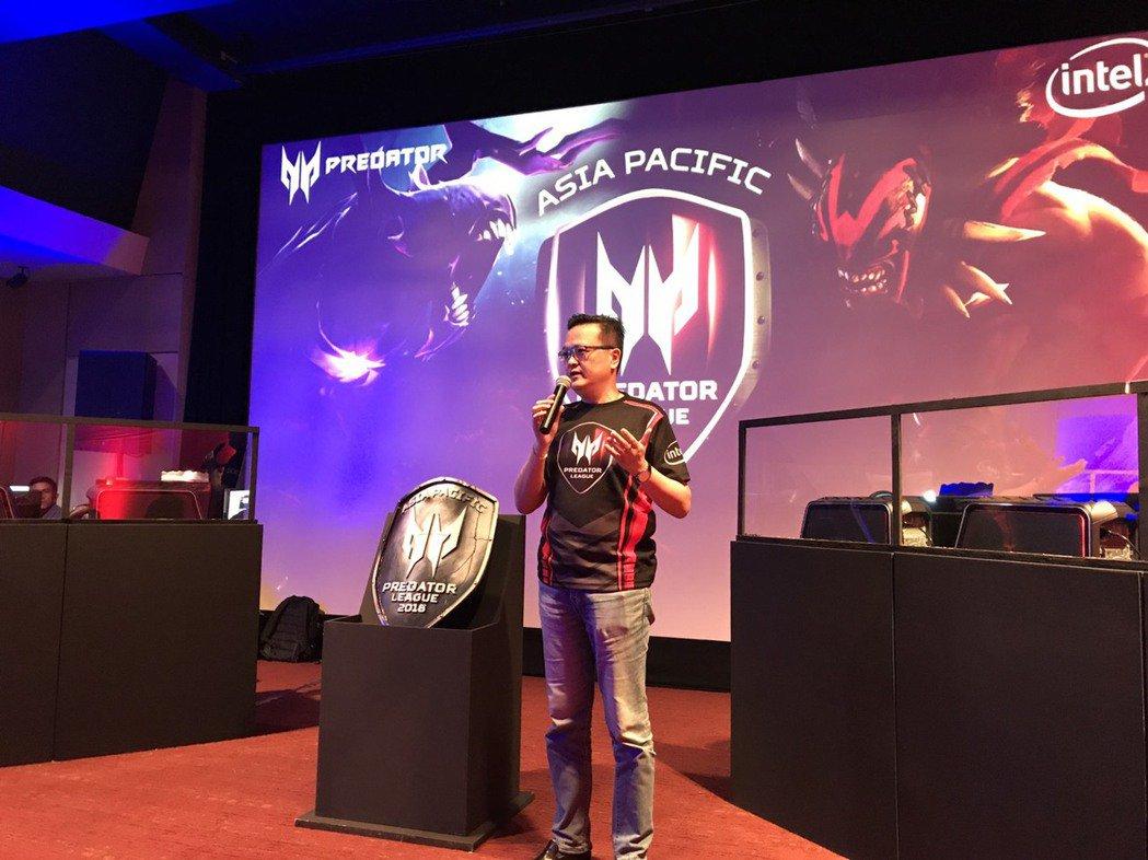 宏碁首屆Predator電競聯盟大賽亞太區於七國同步登場。圖/宏碁提供