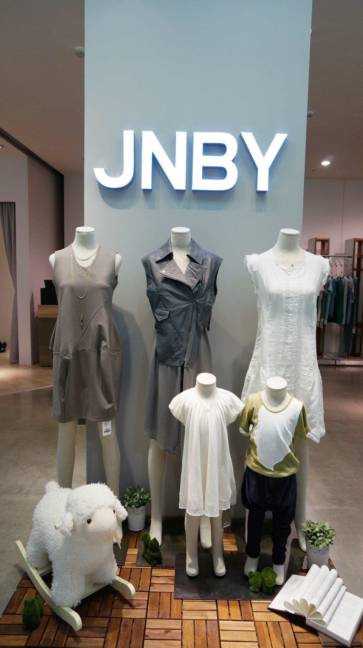 將於台北魅力展參展的大陸品牌JNBY江南布衣集團。圖/紡拓會提供
