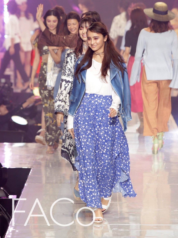 日本福岡的服裝秀帶來令人印象深刻的東瀛風尚。圖/紡拓會提供
