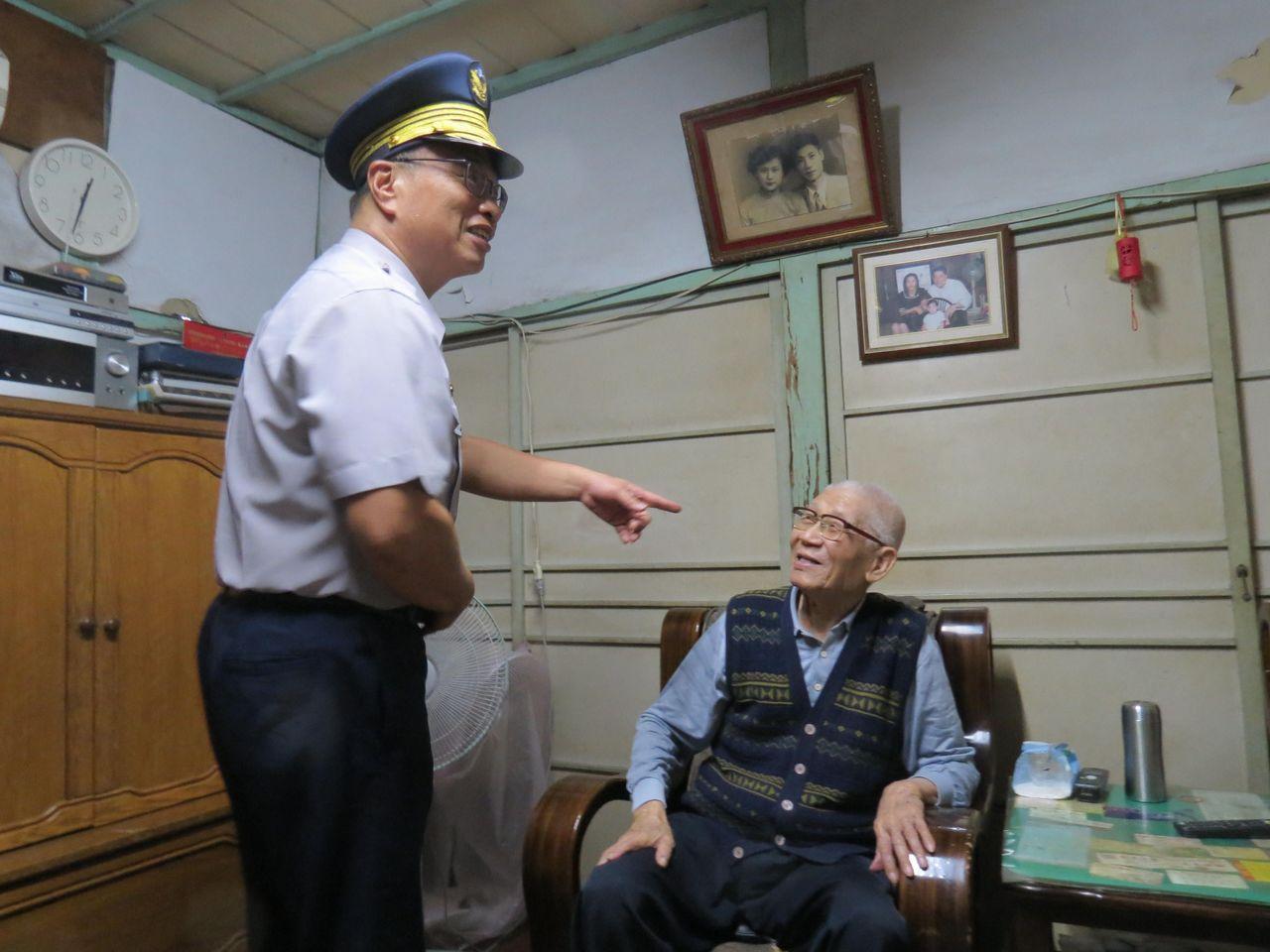102歲最年長波力士 林基祥活躍台南府城