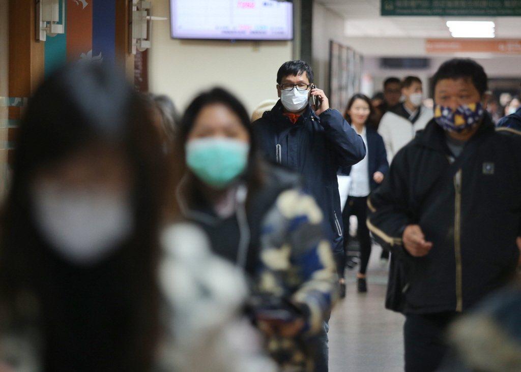 流感季節即將到來,年紀輕也可能染病釀成重症,不可輕忽。聯合報系資料照 本報系資料...
