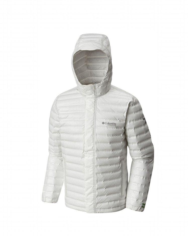 Columbia鈦Eco防水羽絨外套,約19,800元。圖/Columbia提供
