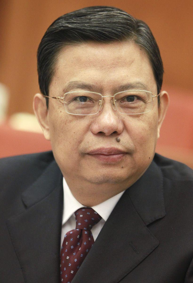 趙樂際身兼「兩委」委員。中新社