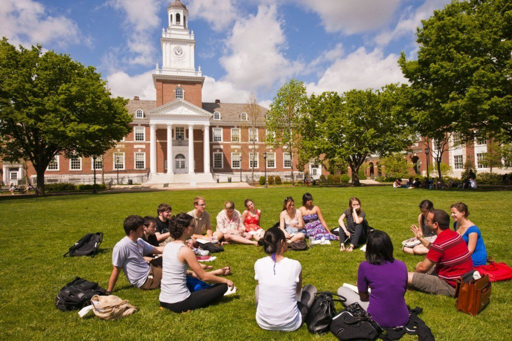 「美國新聞與世界報導」公布全球最佳大學排名,約翰霍普金斯大學為全球第十。圖擷自約...