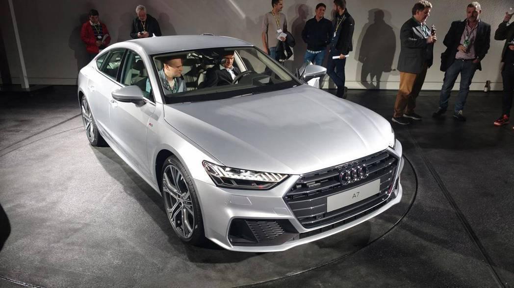 Audi在台灣時間上周四(20)於德國發表全新A7 Sportback。 摘自Motor 1