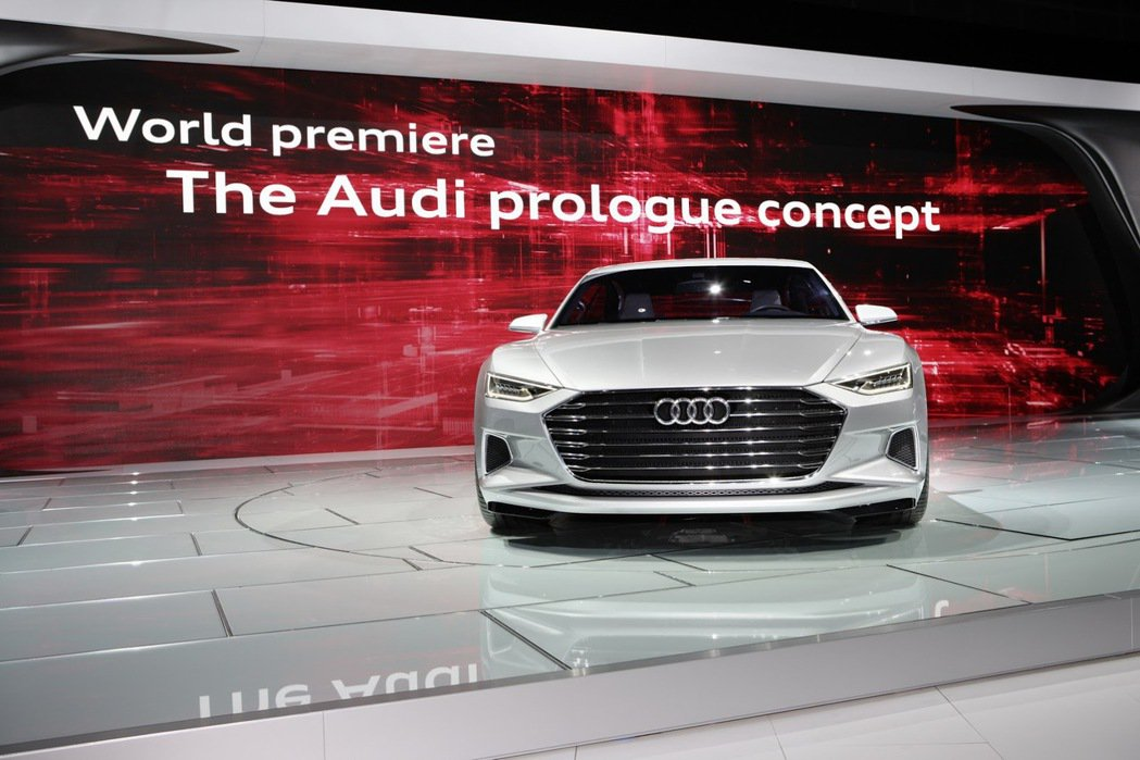 圖為Audi Prologue Coupe Concept。 摘自Audi