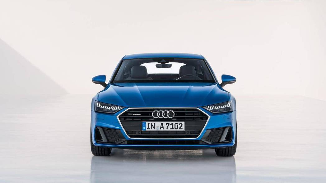 Audi A7 Sportback 車頭。 摘自Audi