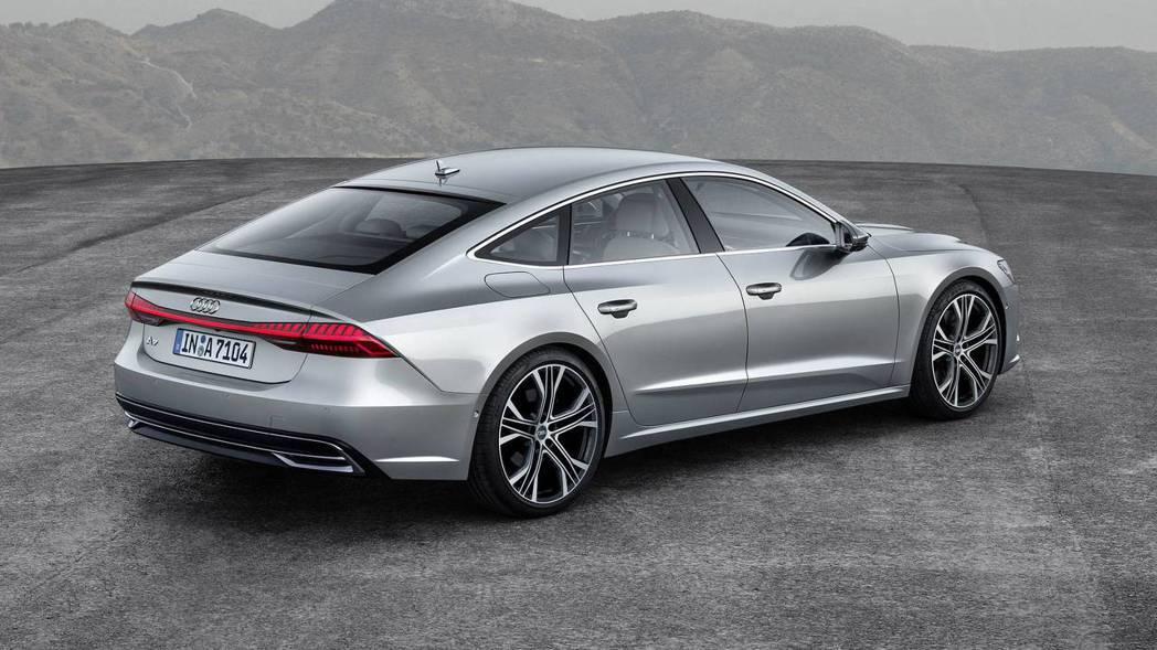 全新Audi A7 Sportback。 摘自Audi