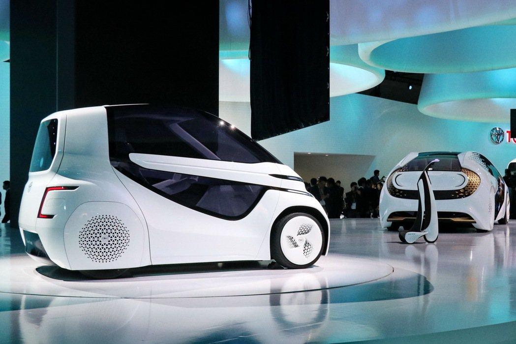 TOYOTA Concept-愛i除了擁有討喜外型,更有高超的AI人工智慧。記者...