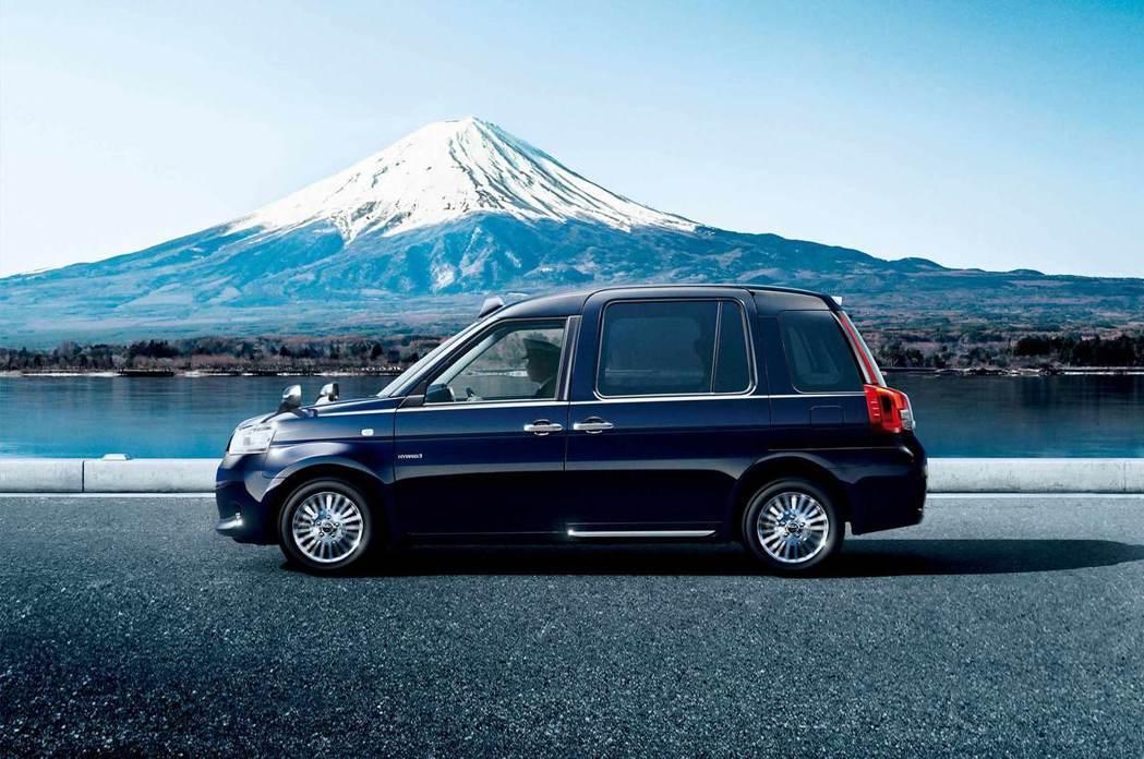 TOYOTA以英國倫敦的計程車為藍本,打造充滿日本特色的JPN TAXI。圖/T...