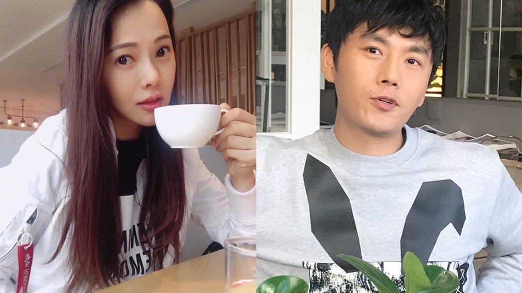 伊能靜2015年嫁給小10歲的中國演員秦昊。 圖/擷自微博。