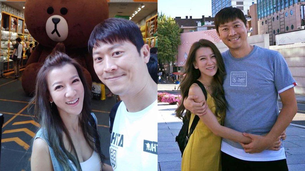 侯昌明和曾雅蘭這對夫妻結婚已16年,是許多節目愛用的通告藝人。 圖/擷自微博。
