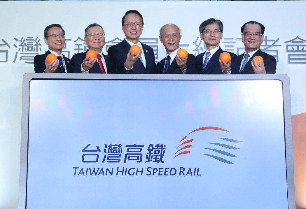 高鐵通車10年推出會員制,台灣高鐵昨舉辦啟動儀式。 記者陳瑞源/攝影