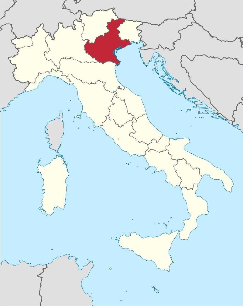 威尼斯所在的威尼托大區舉辦公投爭取自治權。 翻攝自維基