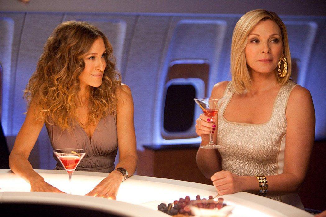 莎拉潔西卡派克(左)與金凱特蘿不合已搬到檯面上。圖/摘自imdb