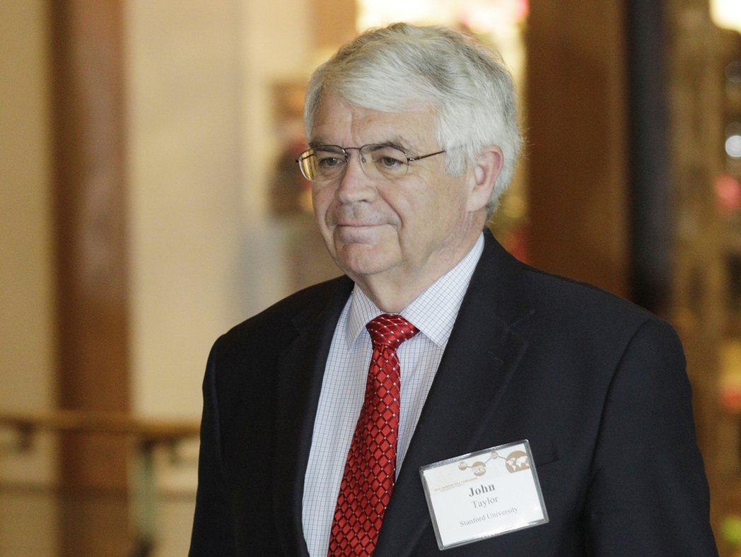 史丹福大學經濟學家泰勒呼聲頗高,有望接任Fed主席。(美聯社)