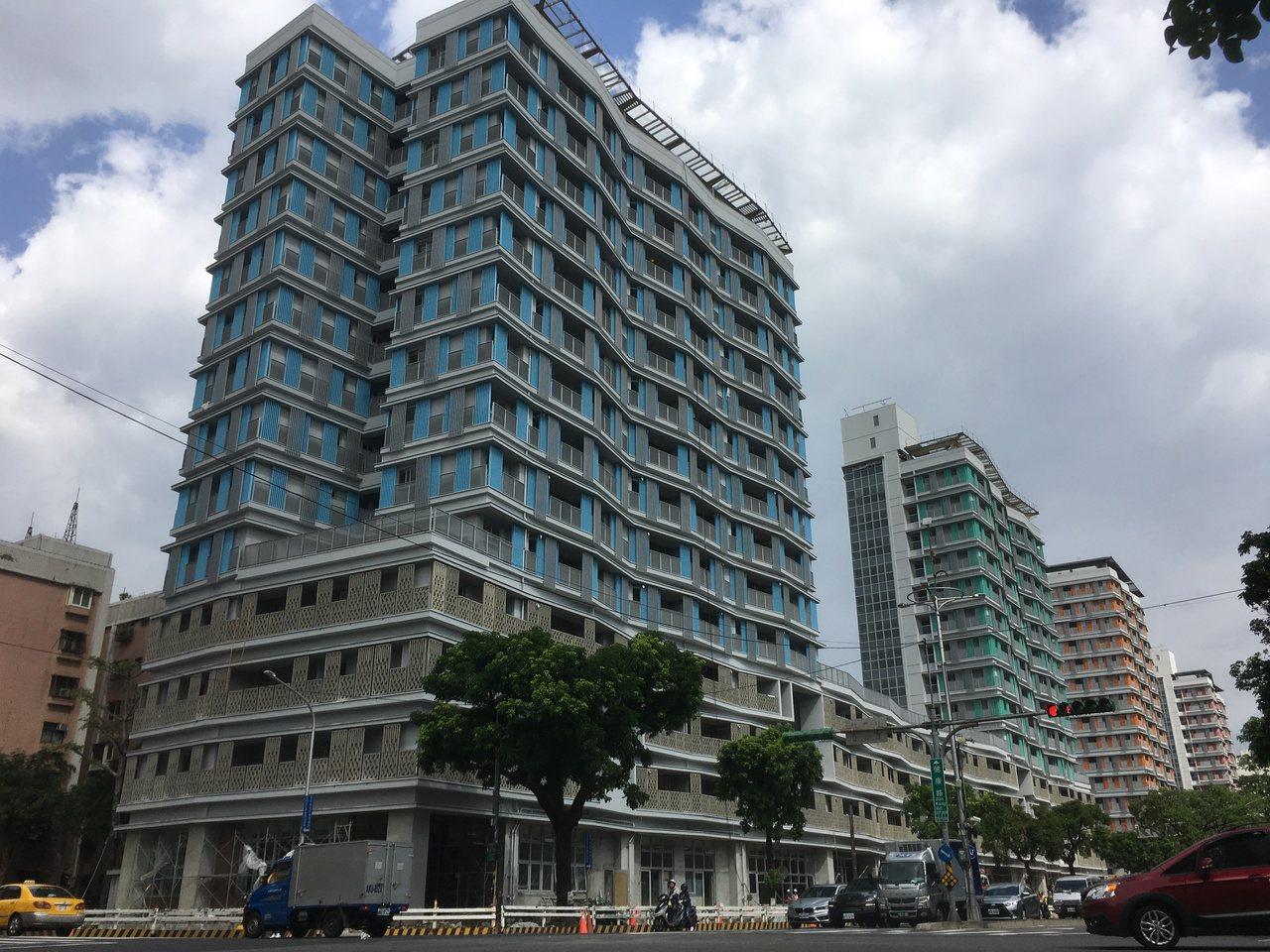 松山區健康公宅完工在即,租金以周邊行情打85折。記者張世杰/攝影
