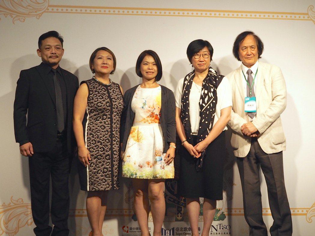 歌劇經典之作《馬克白》明年1月歌劇院首演,女高音徐以琳(左2)飾演馬克白夫人的,...