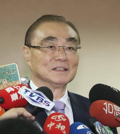 國防部長馮世寬。本報系資料照